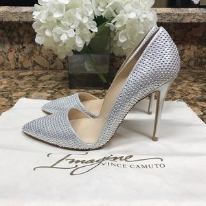 Silver Imagine by Vince Camuto Ossie D'Orsay Pump